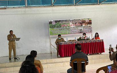 Kegian Pengabdian Kepada Masyarakat Dosen Fapet di Kelurahan Taratara 2 dihadiri Wakil Walikota Tomohon Bpk. Wenny Lumentut, SE